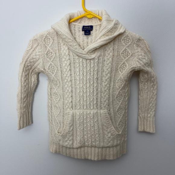 Girls Ralph Lauren pullover sweater
